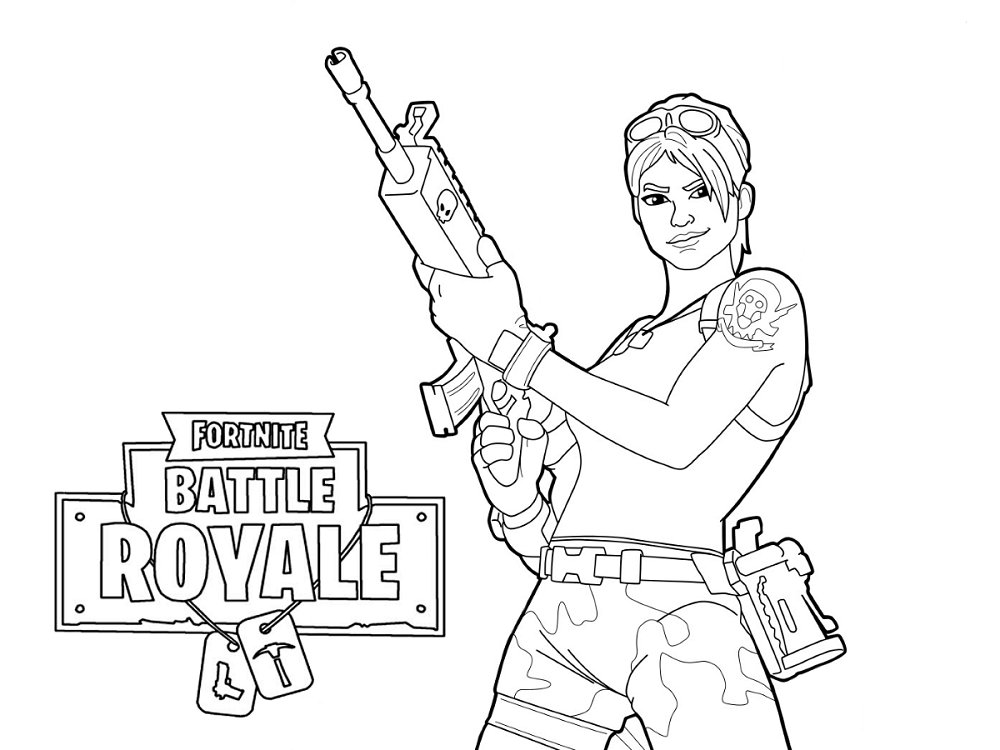 Fortnite Coloring Pages Marshmello