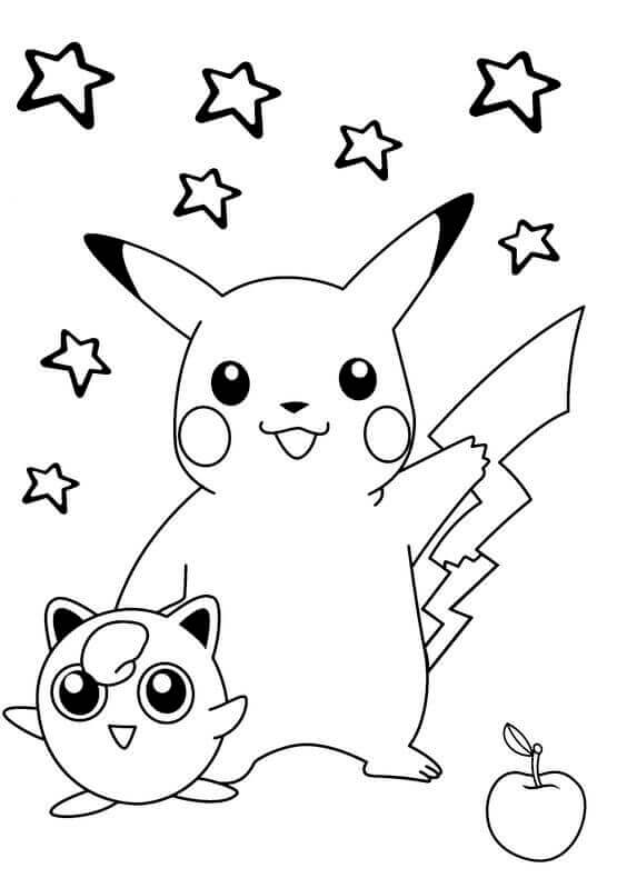 image regarding Printable Pikachu titled Cost-free Printable Pikachu Coloring Web pages - Coloring Junction