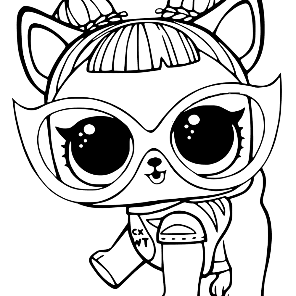 20 Free Printable Lol Surprise Pets Coloring Pages ...