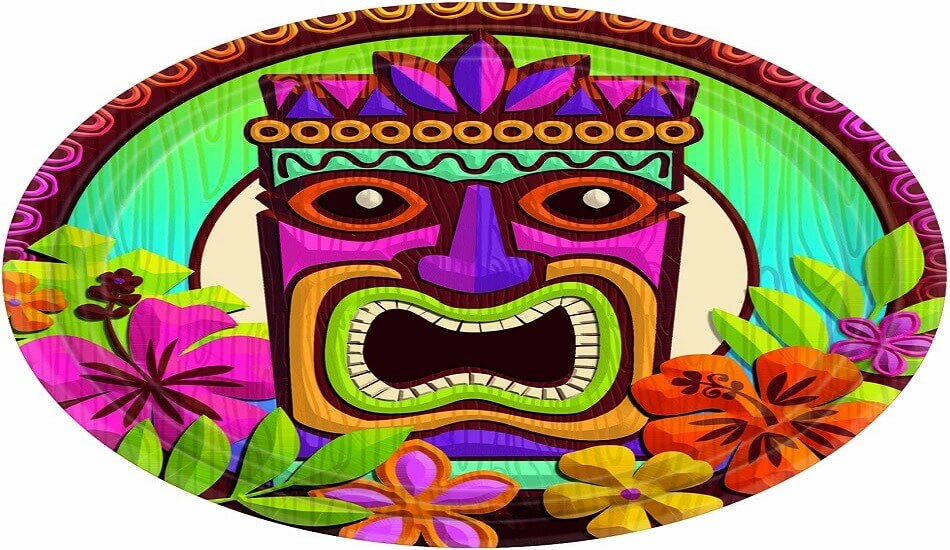 picture regarding Tiki Mask Printable called 30 Absolutely free Printable Tiki Coloring Web pages - Coloring Junction