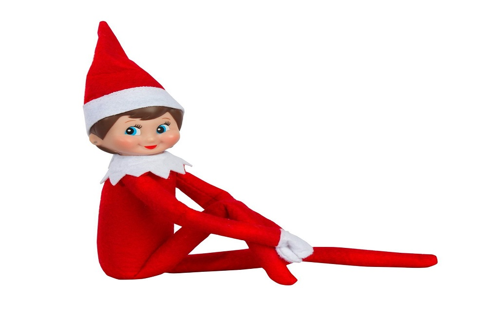 Free Elf On The Shelf Coloring