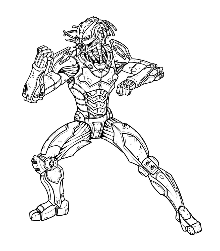Mortal Kombat Coloring Pages