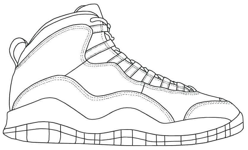 Free Jordan Coloring Pages Printable Coloring Junction