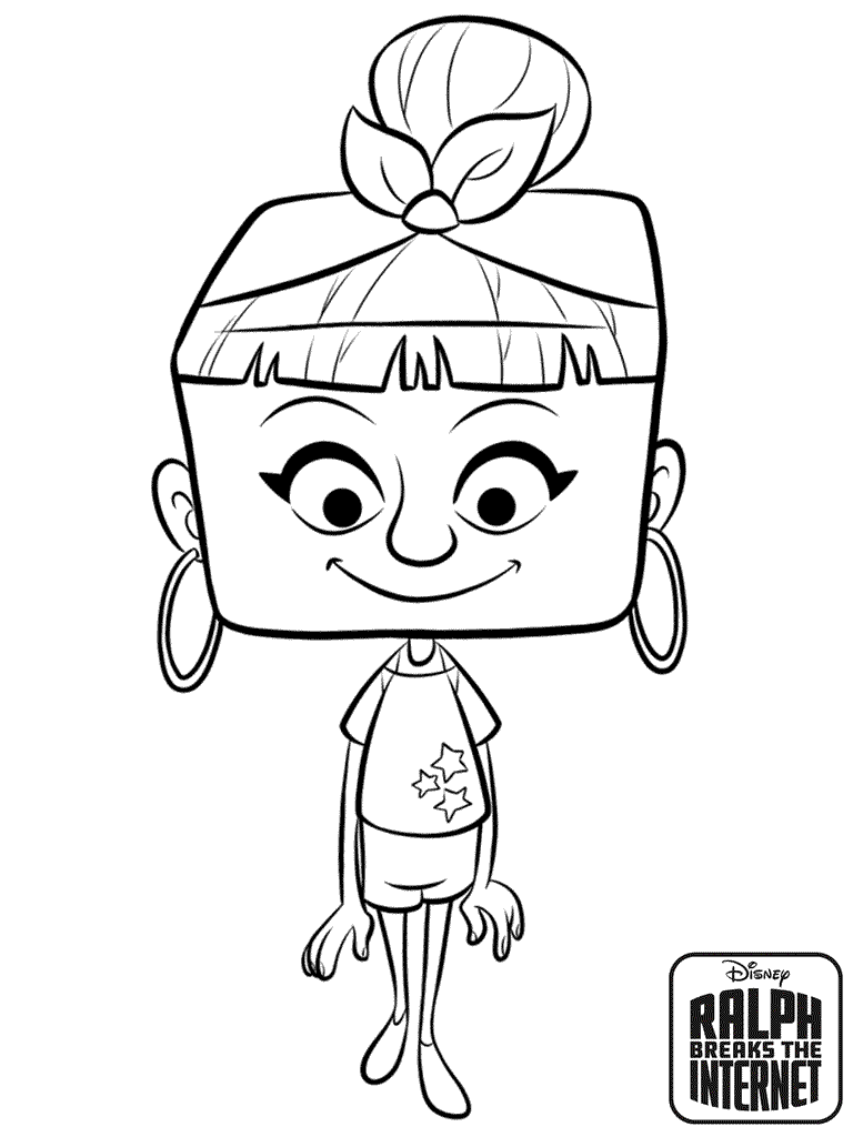 Ralph 2 Coloring Pages