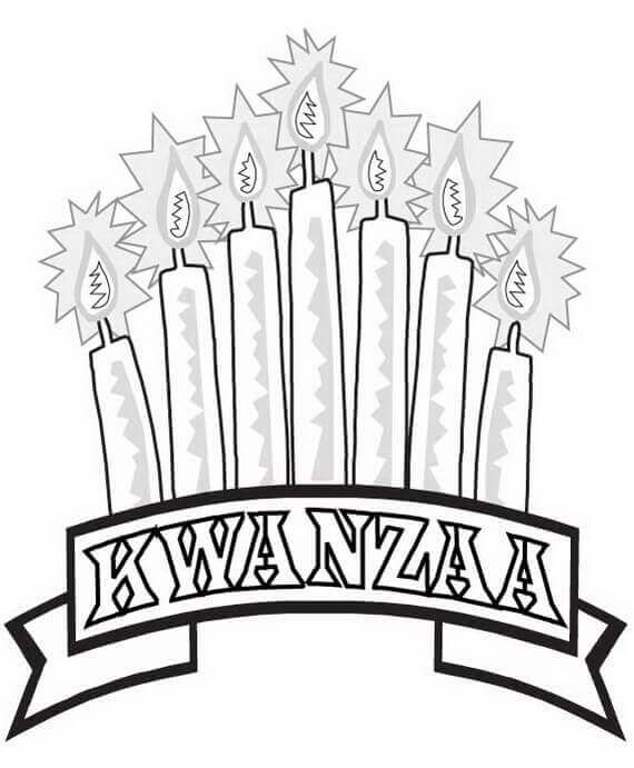 7 Days Of Kwanzaa Coloring Pages Printable
